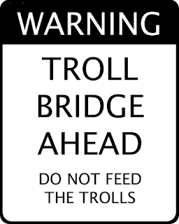 Troll Bridge Sign