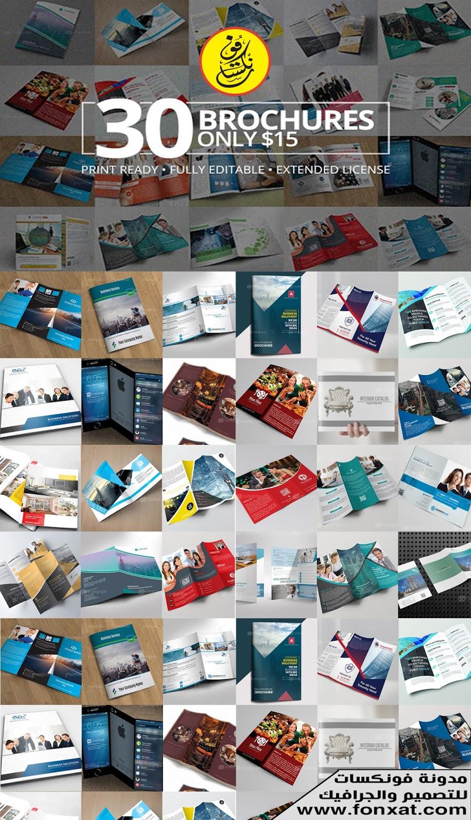 Download Brochures Bundle, mini-accessories, 30 Brochures
