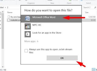 Cara Membuka File Format .Octet-Stream Dijamin Work