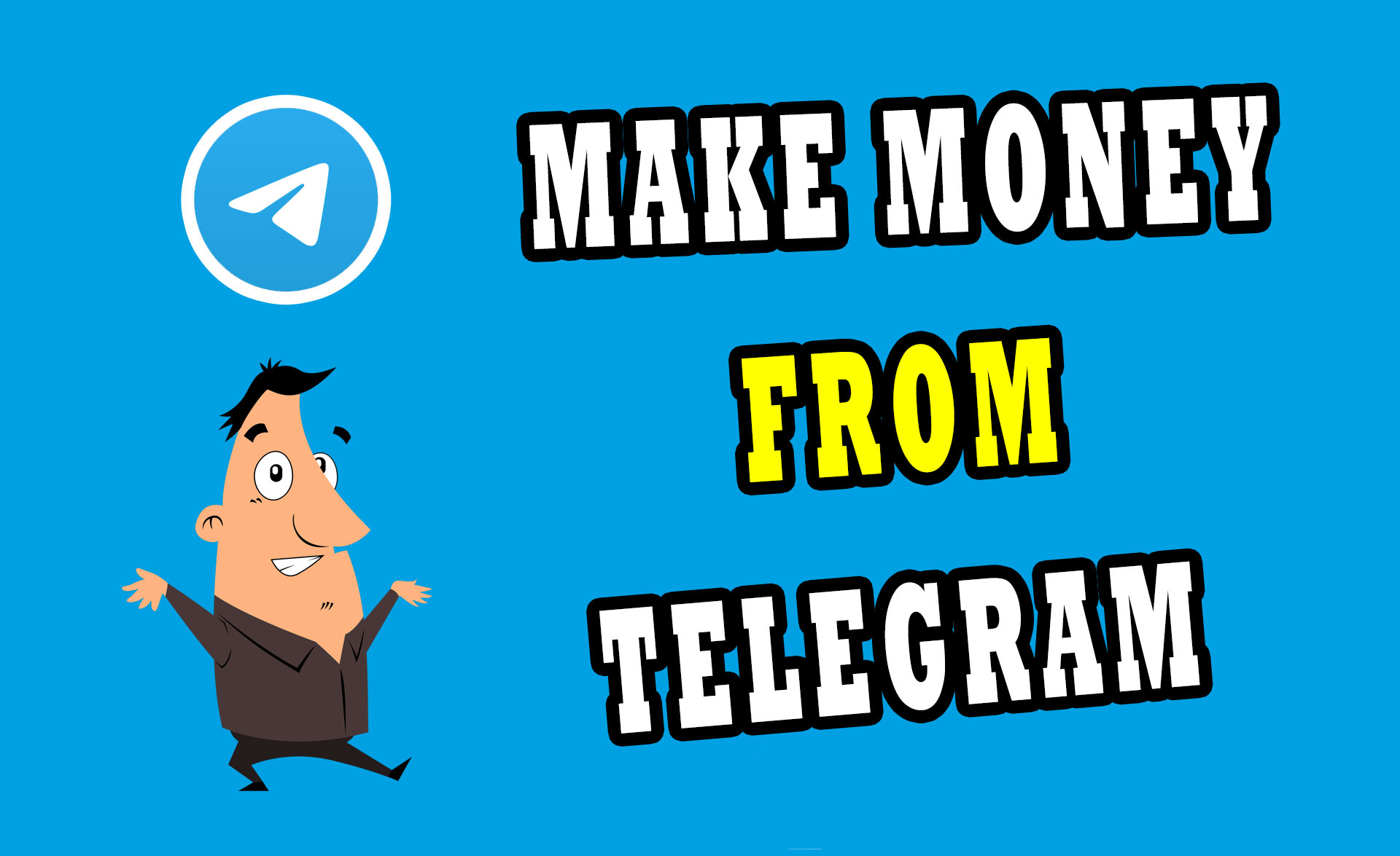 Top 4 Ways to Earn Money from Telegram