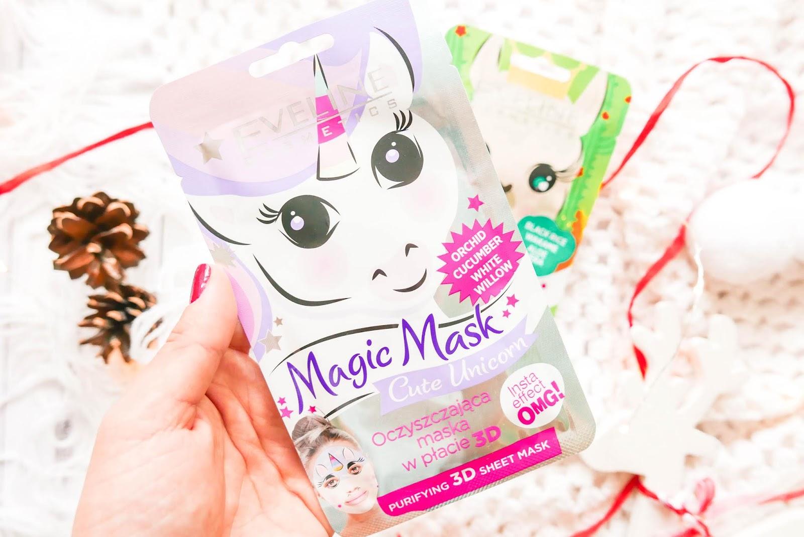 . Oczyszczająca maska w płacie 3 D