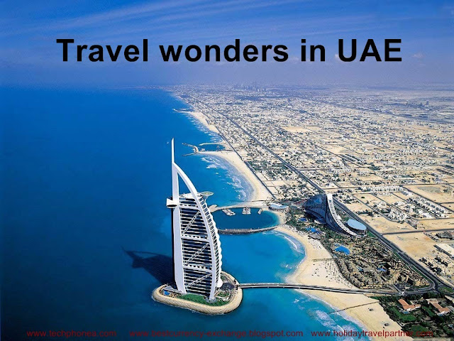Travel wonders in UAE