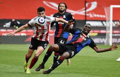 ملخص واهداف مباراة شيفيلد يونايتد وكريستال بالاس (0-2) الدوري الانجليزي
