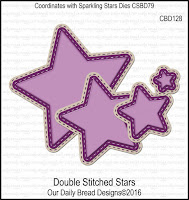 ODBD Custom Double Stitched Stars Dies