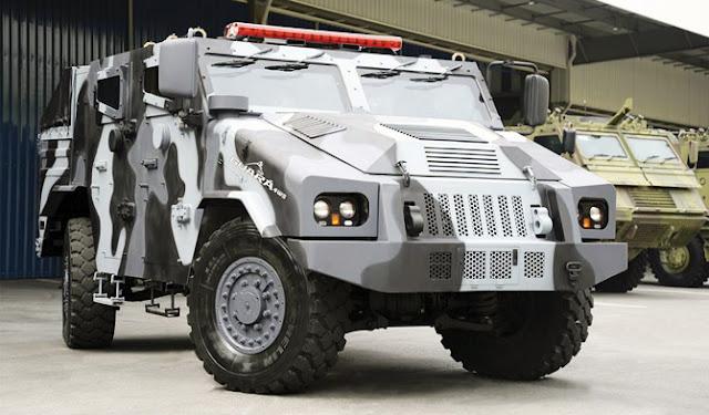 Avibras apresenta protótipo da viatura Guará de uso policial