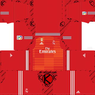 Dream League Soccer Kits For Real Madrid - DLS 2018/19