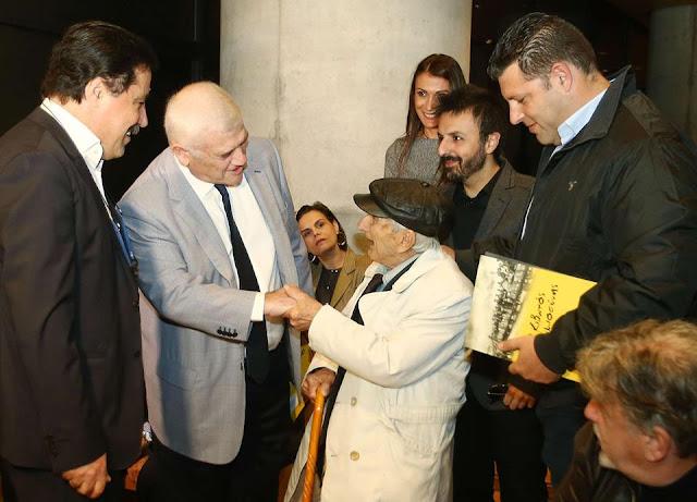 Με τον υπεραιωνόβιο Πόντιο Σταύρη Παπαβραμίδη, η εκδήλωση της ΑΕΚ για Μουσείο Προσφυγικού Ελληνισμού