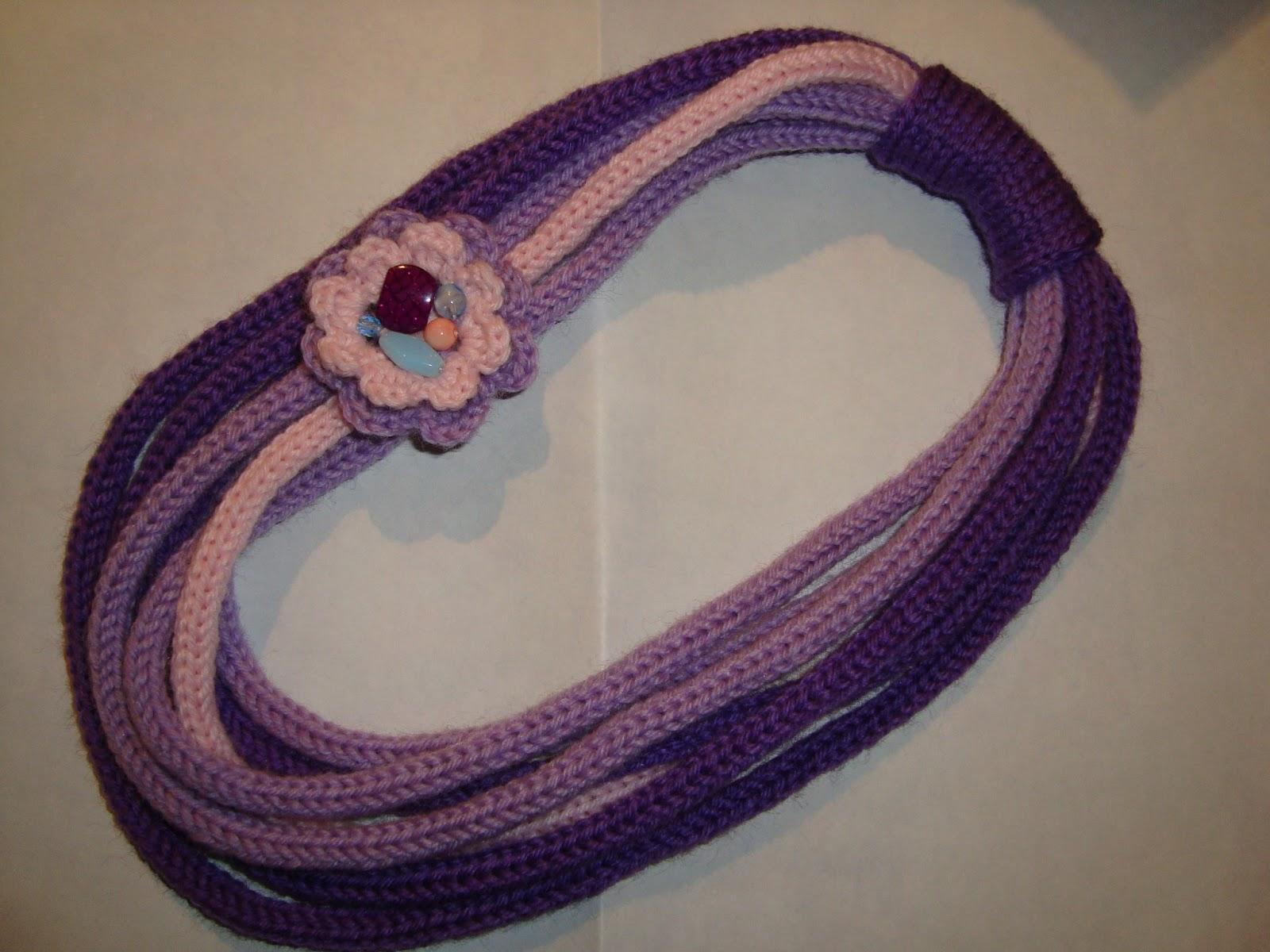 Favorito Le creazioni Di Grazia: collane di lana KT05