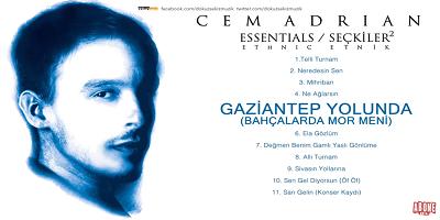 Cem Adrian Gaziantep Yolunda Şarkı Sözleri