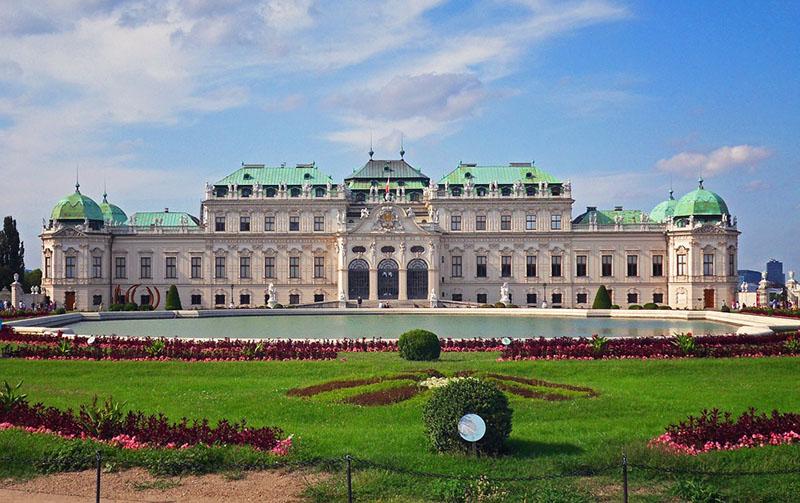 One Day in Vienna, Belvedere Palace Vienna