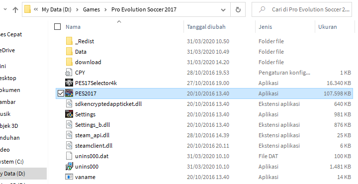 Tutorial Install Patch Next Season Patch (NSP) Pes 2017 Update Pemain