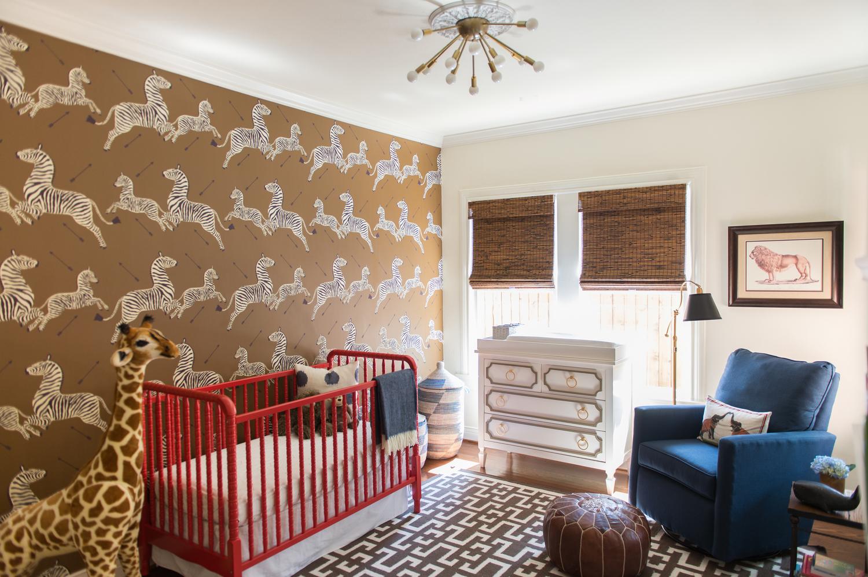 A Sophisticated Jungle Safari Nursery - The Glam Pad