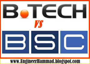 B-Tech VS BSC engineering