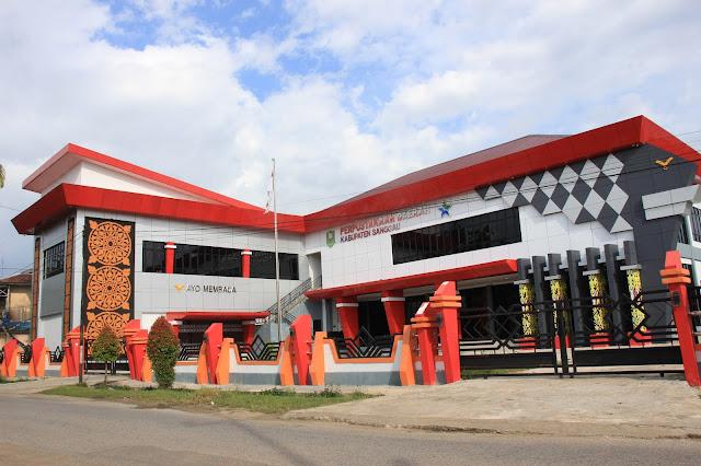 Yuk lihat luar dalam Perpustakaan Daerah Kabupaten Sanggau