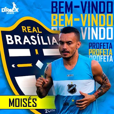 Atacante Moisés acerta com Real Brasilia