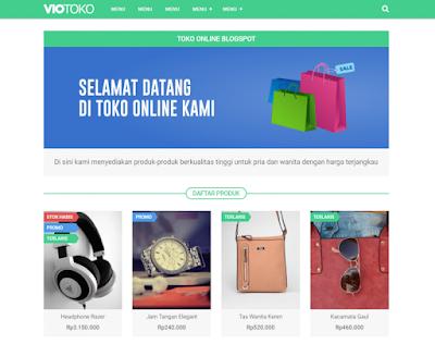 Download Template VioToko