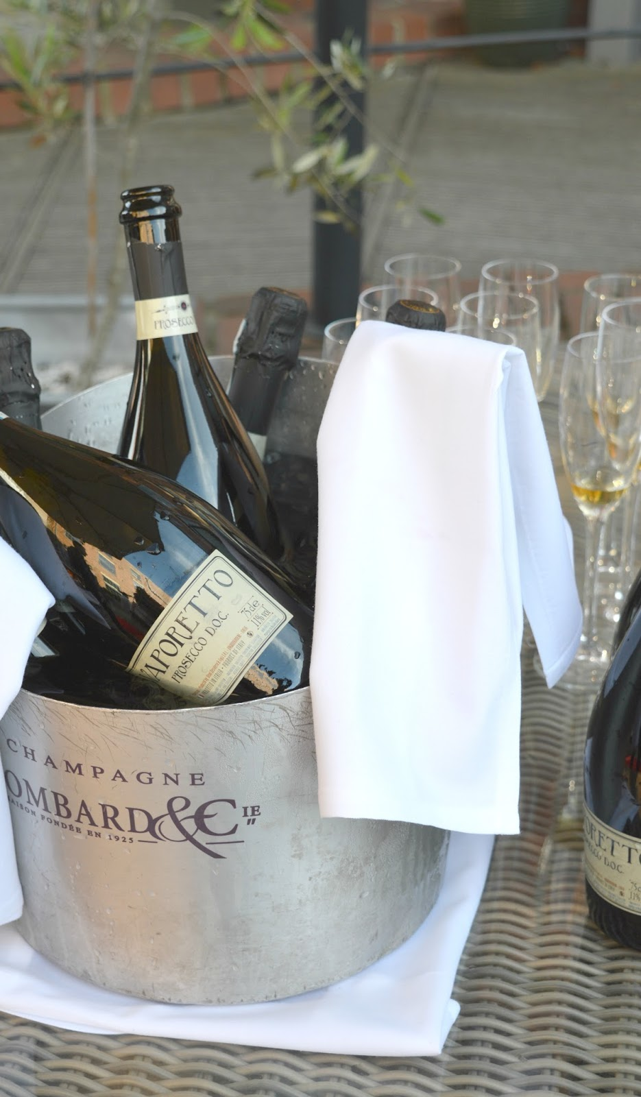 Summer on the Terrace at Hotel Du Vin, Newcastle - Prosecco