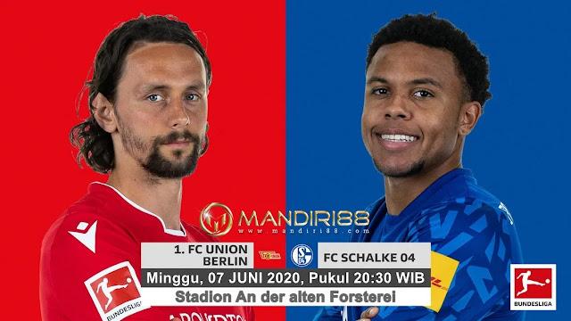 Prediksi Union Berlin Vs Schalke 04, Minggu 07 Juni 2020 Pukul 20.30 WIB