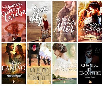 catálogo Red Apple 2018_sellos editoriales de novela romántica