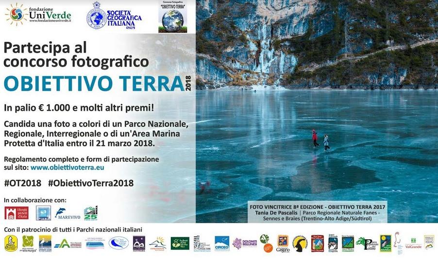 Concorso Fotografico Parchi e Aree Marine Protette d'Italia: Obiettivo Terra 2018