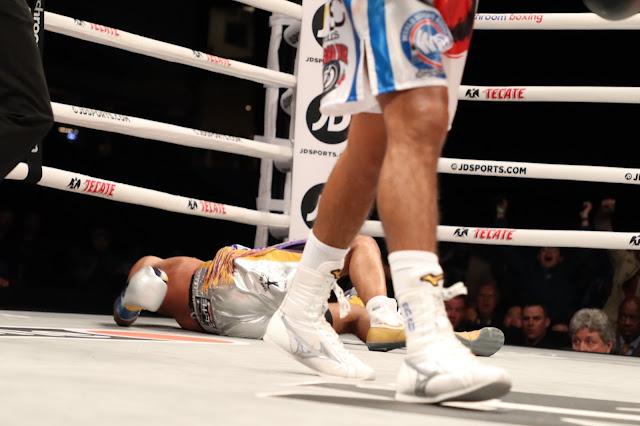 Roman Gonzalez Knocks Out Kal Yafai