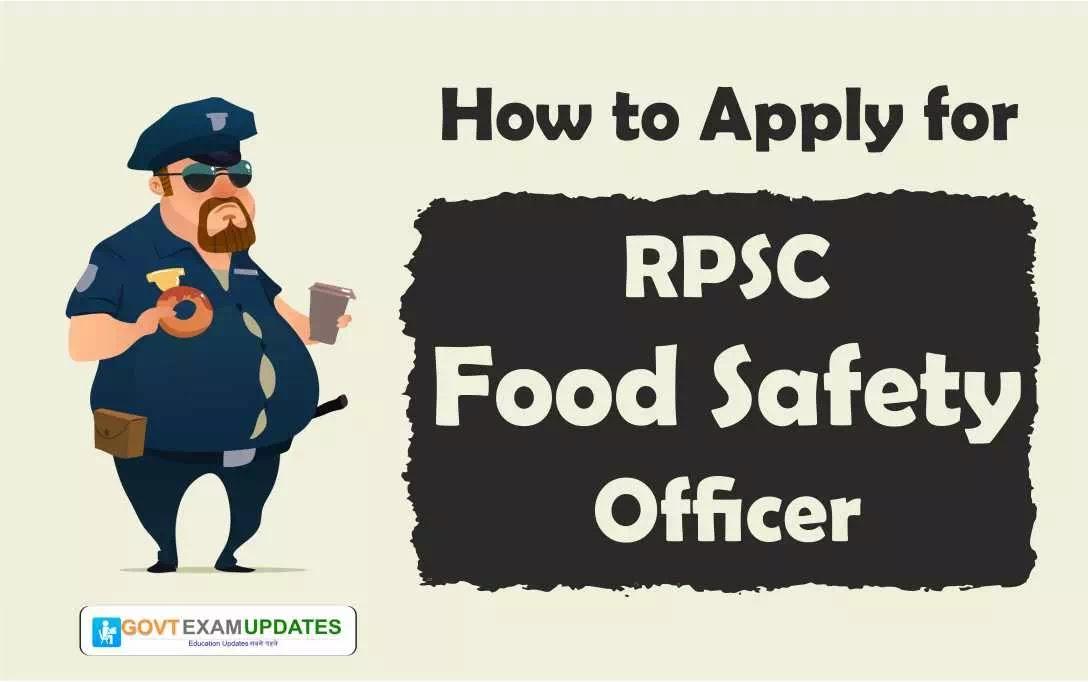 apply for RPSC FSO 2019