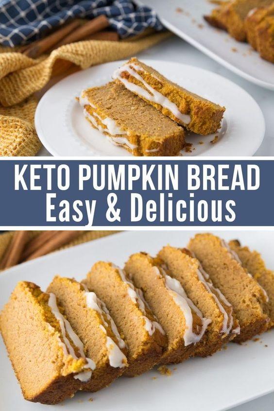 The Very Best Keto Pumpkin Bread