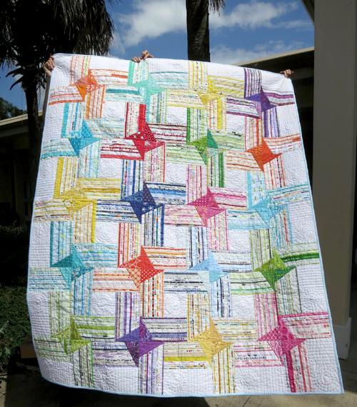 Selvedge Block & Quilt - Tutorial