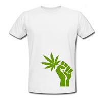 Tshirts de marihuana