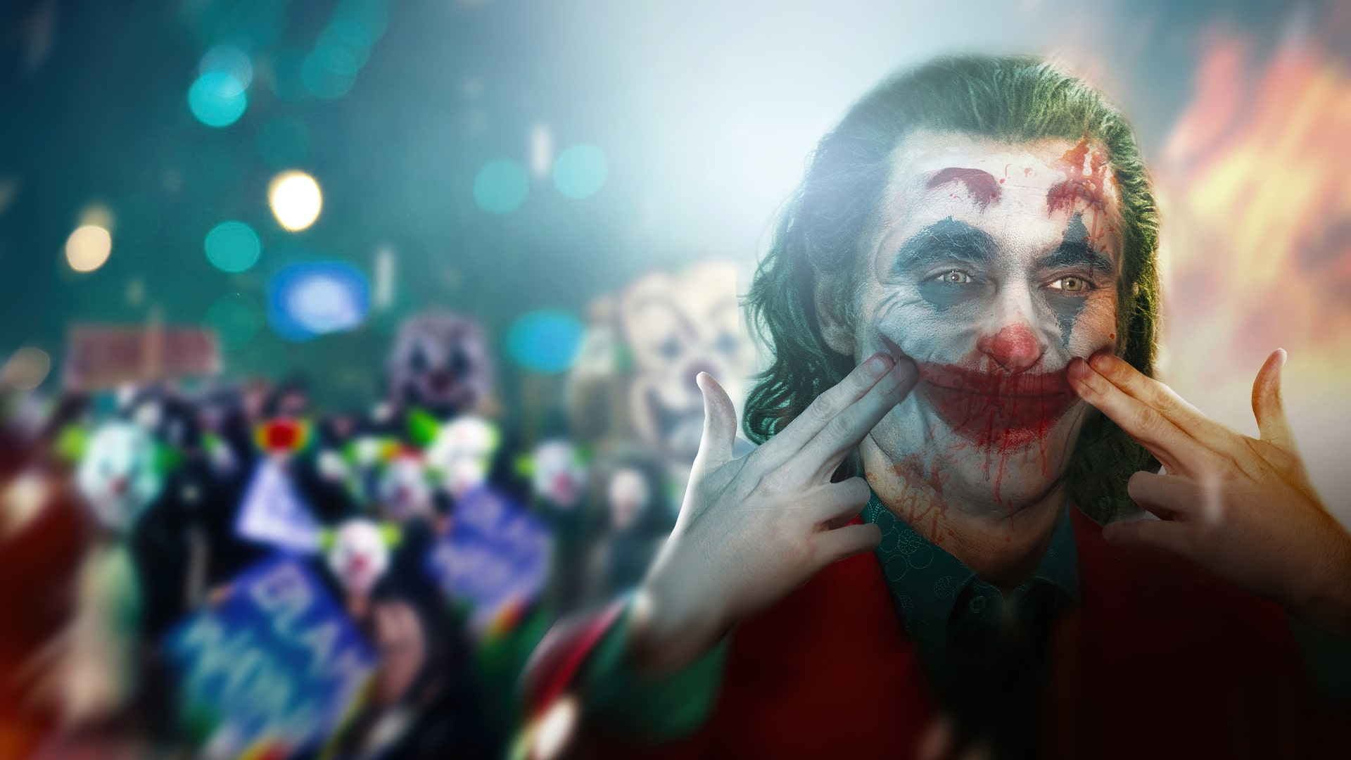 joker wallpaper, joker smile wallpaper