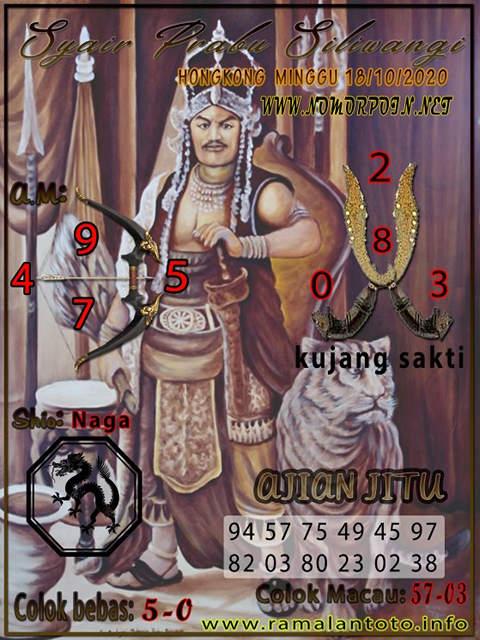 Kode syair Hongkong Minggu 18 Oktober 2020 229