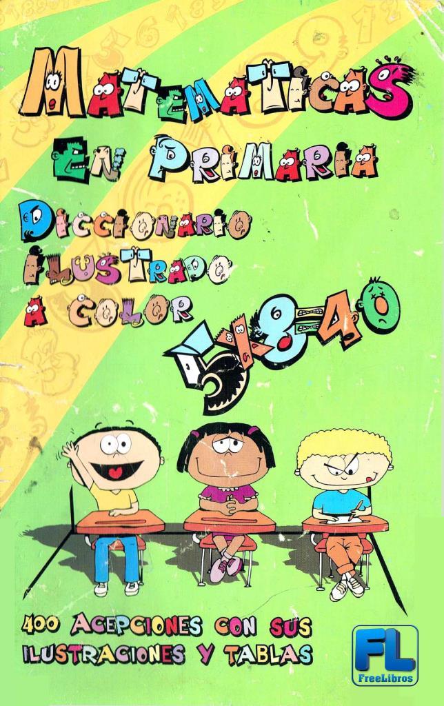 Diccionario de matemáticas en primaria