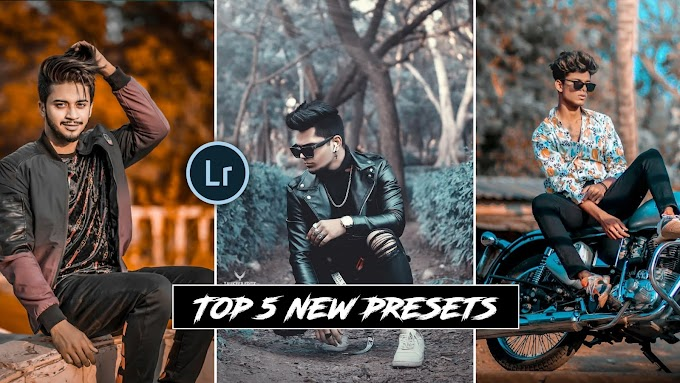 top 5 new Presets for lightroom
