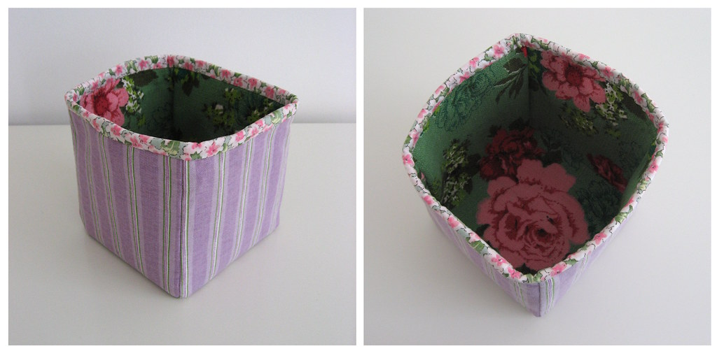 Tutorial: How to Sew a Fabric Box