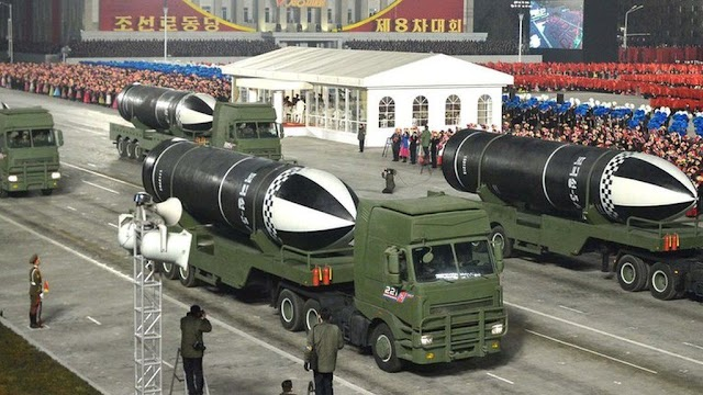 """North Korea unveils new submarine-launched missile called """"the world's most powerful weapon"""""""