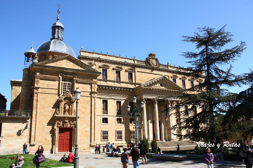 Fachada del Palacio de los Anaya