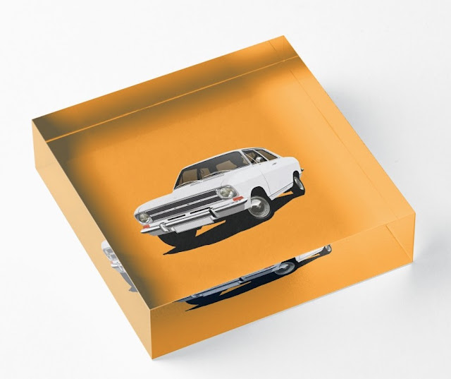 Retro Opel Kadett B home decor