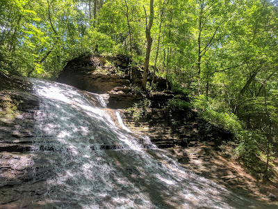 Photo of the upper level of Jackson Falls