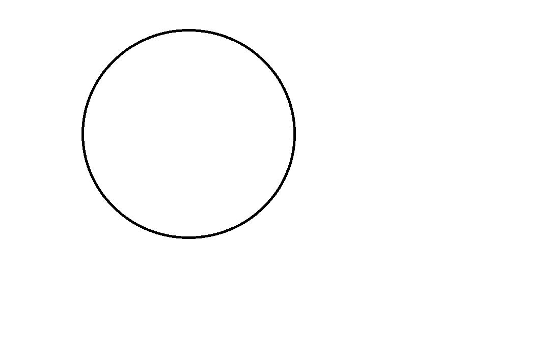 Kreis Zum Ausmalen
