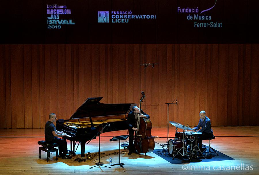 Yonathan Avishai Trio, Conservatori del Liceu, Barcelona, 9-nov-2019
