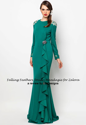 jovian mandagie falling feathers collection for zalora