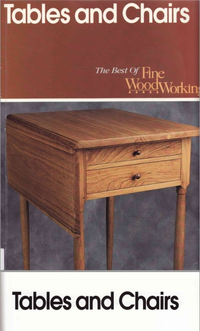 Libro de carpinteria fina 100 Mesas y Sillas para hacer descarga gratuita / Tables and chairs the best of fine wood working (pdf )