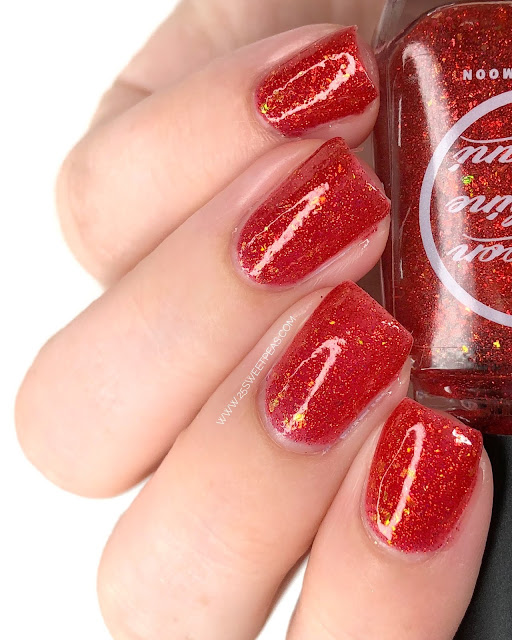Moon Shine Mani Daddys Red Bear