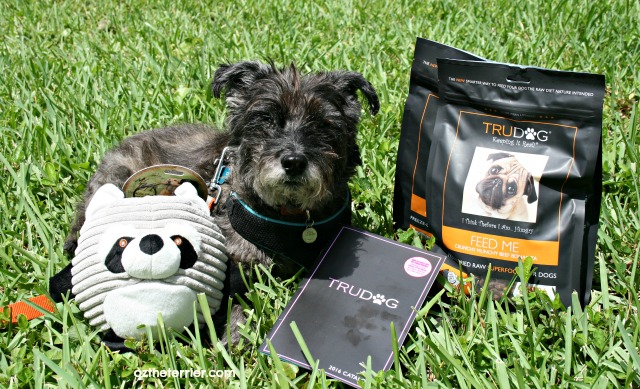 Oz will try TruDog freeze dried raw superfood for dogs