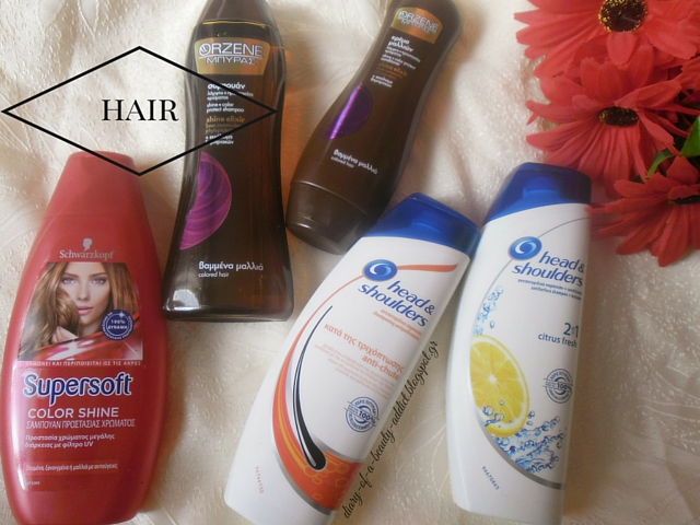 Schwartzkopf  Super Soft Color Shine Shampoo / Orzene Beer Shine Elixir Shampoo Colored Hair / Orzene Beer Shine Elixir  Conditioner Colored Hair / Head & Shoulders Citrus Fresh 2in1 Anti-dandruff Shampoo And Conditioner / Head & Shoulders Anti-ChuteAnti-dandruff Shampoo