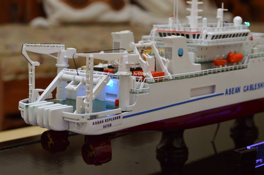Miniatur Kapal Asean Explorer Vessel Cv Rumpun Art Work Temanggung Jawa Tengah