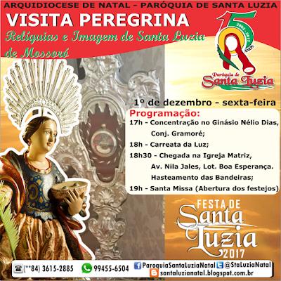 Paróquia de Santa Luzia Natal - 15 anos de criação