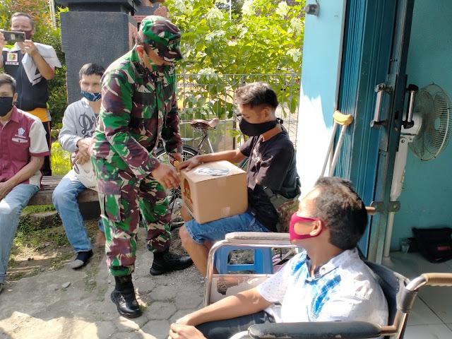 Penyandang Disabilitas Purbalingga Dapat Bantuan Sembako