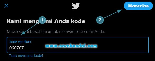 Cara Mengganti Email Twitter Lewat PC