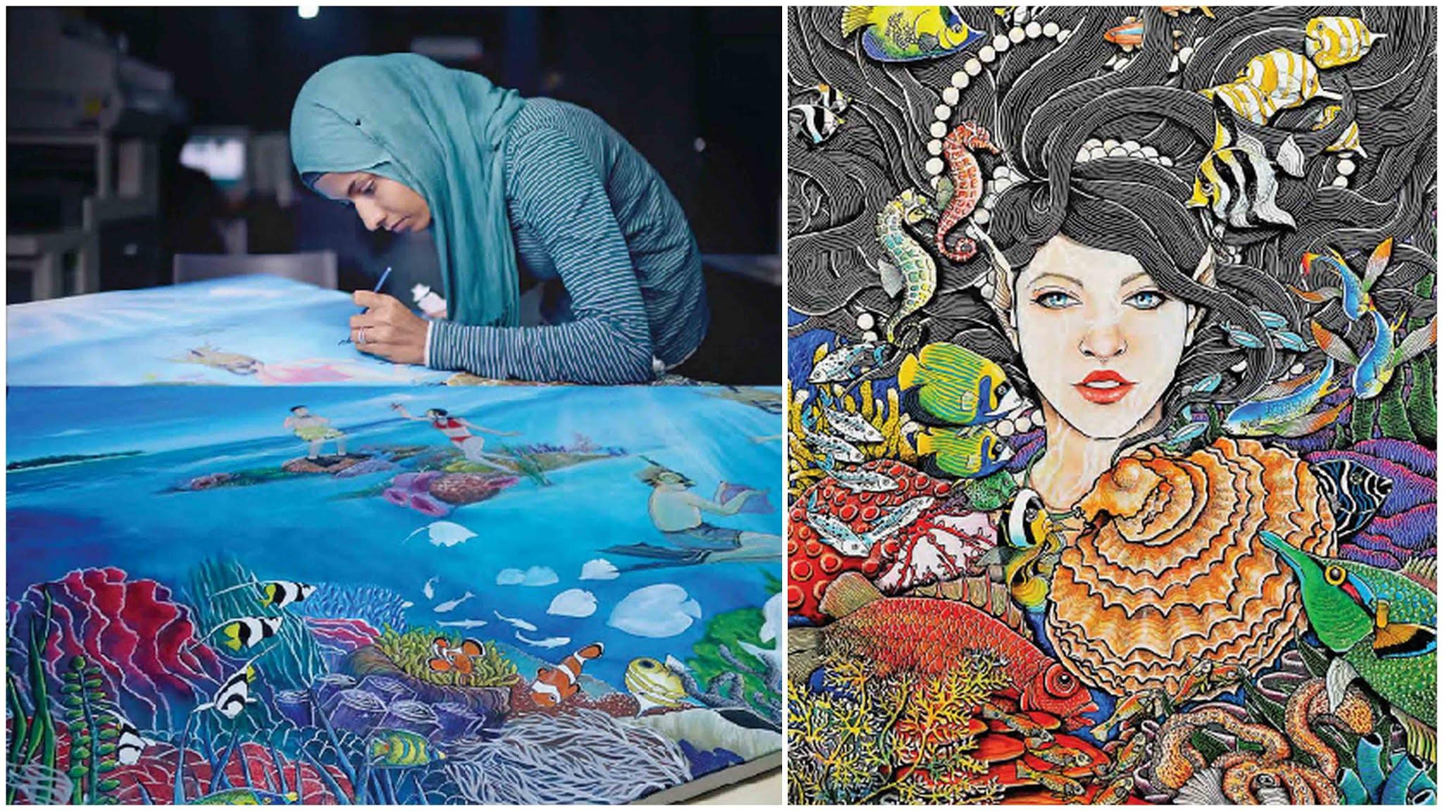 Произведения искусства на Мальдивах